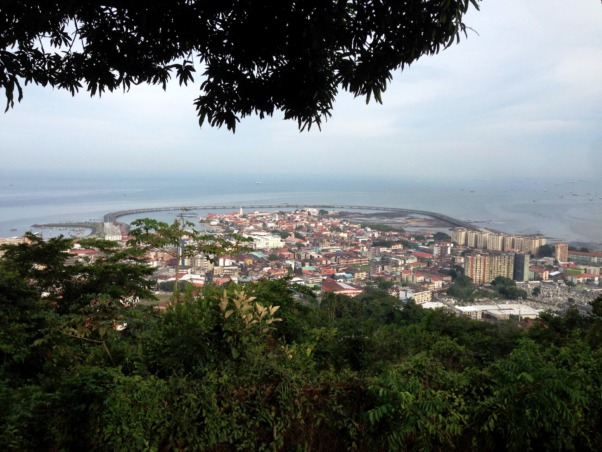 panama tourist attractions: Ancon hill, in Panama City