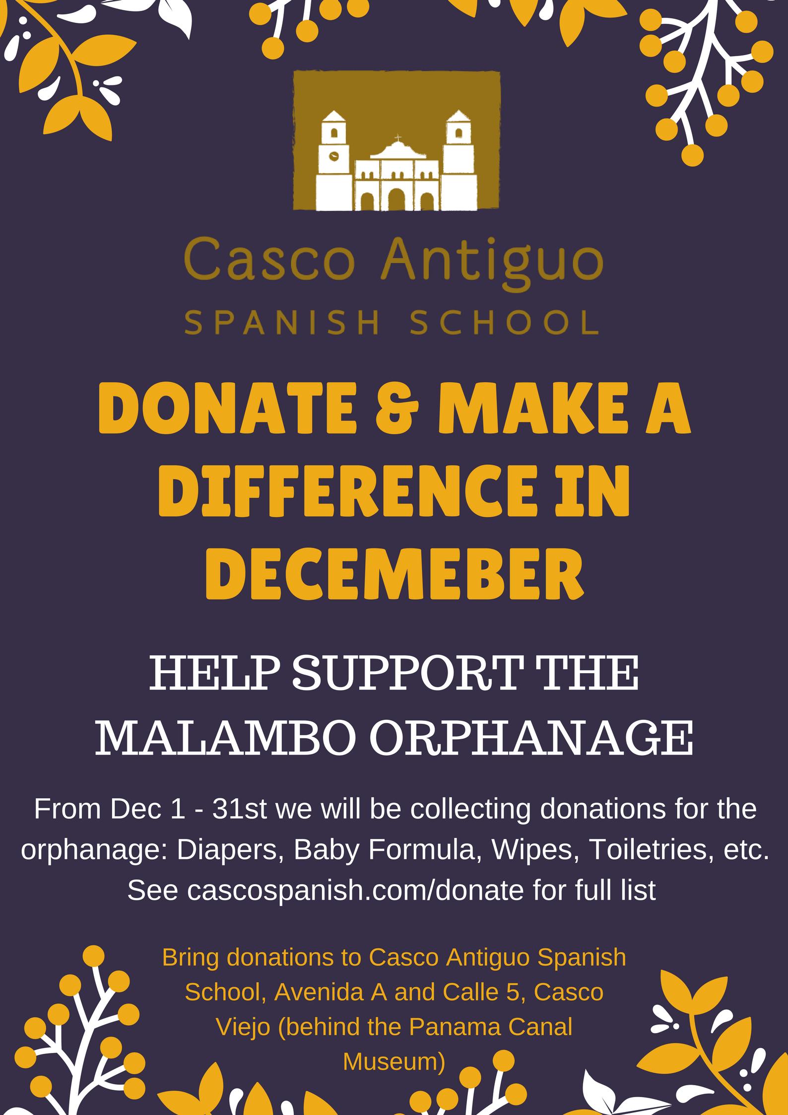 Malambo Donatation Poster 2